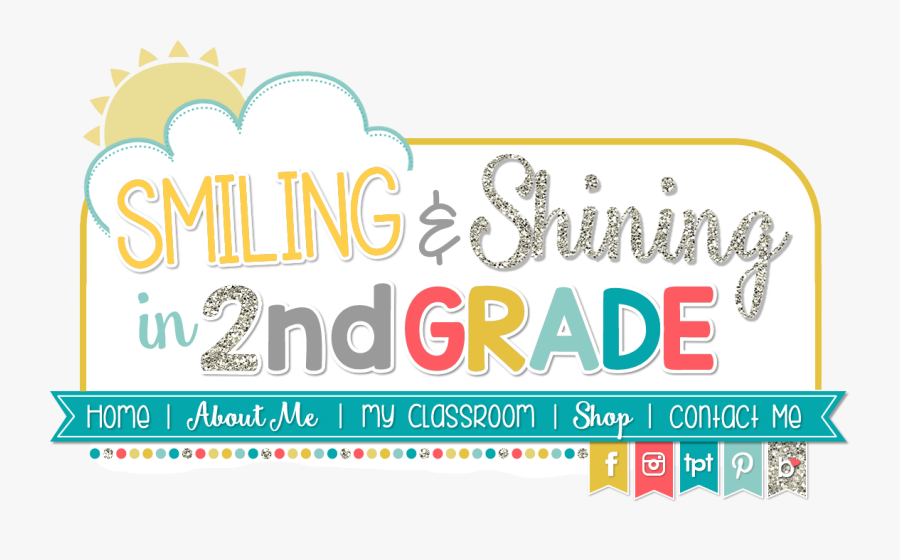 Smiling And Shining In Second Grade, Transparent Clipart