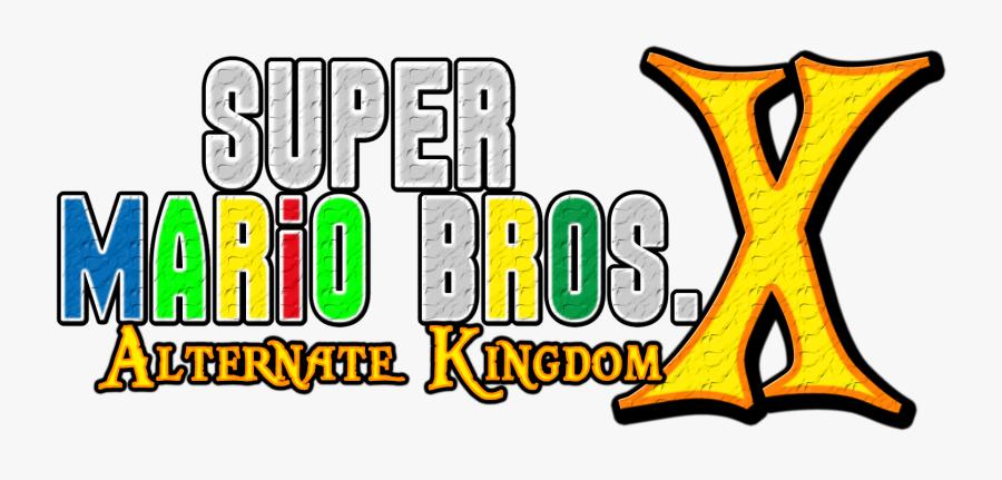 Alternative Kingdom Logo By Asylusgoji91 New Super Mario Bros