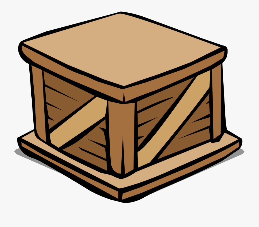 Wooden Crate Sprite - Wooden Crate Clip Art, Transparent Clipart