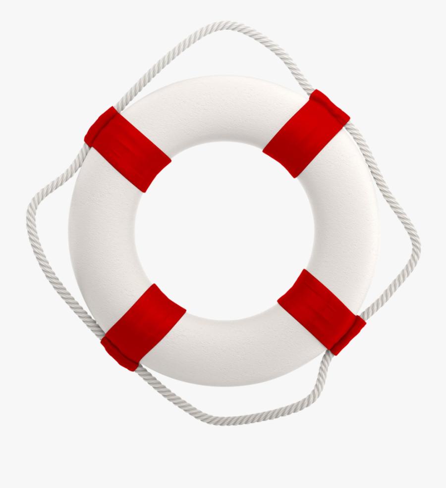 Life Buoy Vector, Transparent Clipart