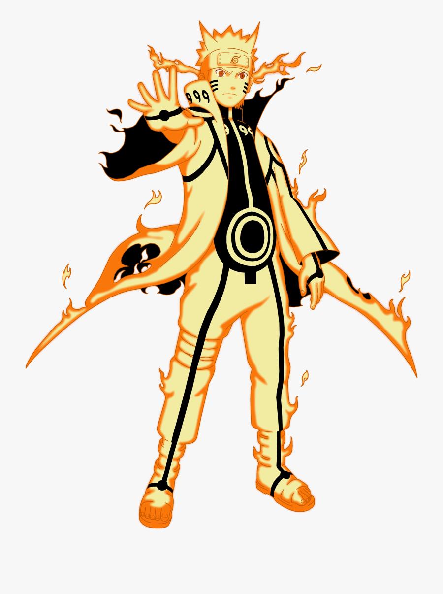 With Kurama Sage Mode And Standard Sage Mode Having Naruto Modo Kurama Png Free Transparent Clipart Clipartkey