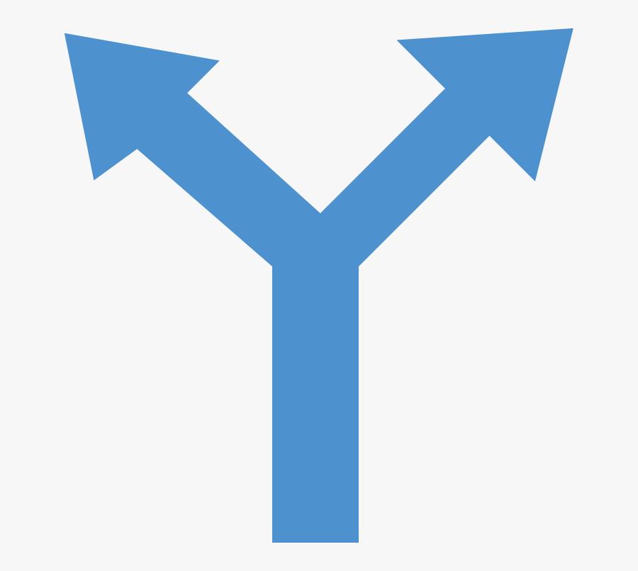 Transparent Caribbean Clipart - Two Directions Arrow Icon, Transparent Clipart