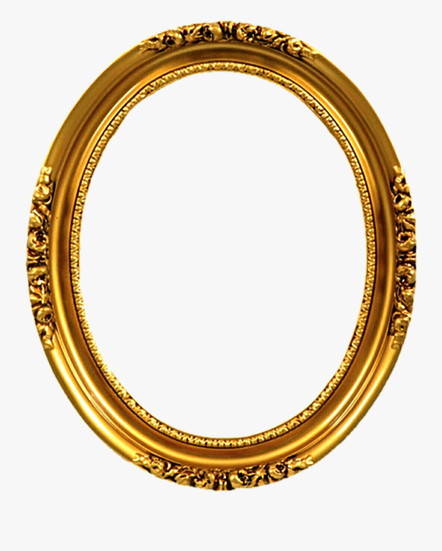 Oval Golden Frame Png, Transparent Png - Oval Gold Frame ... (900 x 1123 Pixel)