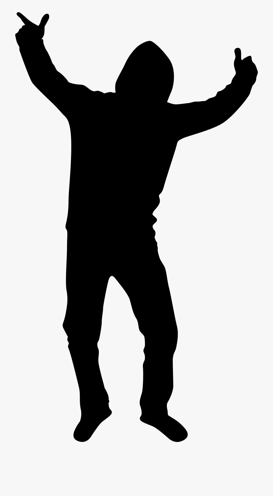 Transparent Dance Clip Art - Boy Silhouette Png, Transparent Clipart