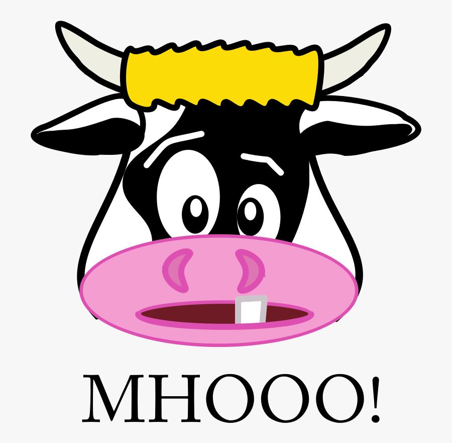 Cow Head Clipart Gambar Kartun Kepala Sapi Free