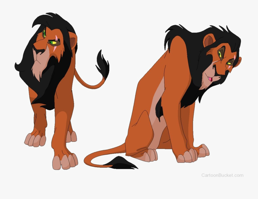 Scar The Lion King Mufasa Simba - Lion King Scar Colors, Transparent Clipart