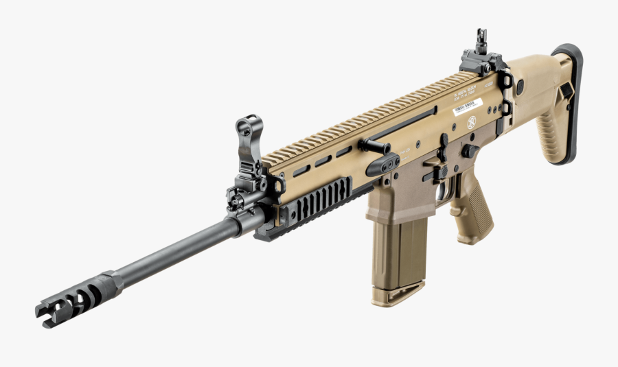 Scar Real Gun Photo Download, Transparent Clipart