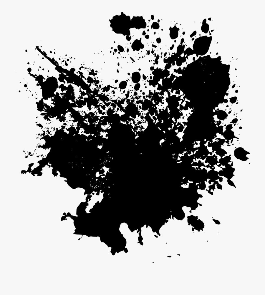 Brush Grunge Paint Free - Bercak Bercak Png, Transparent Clipart