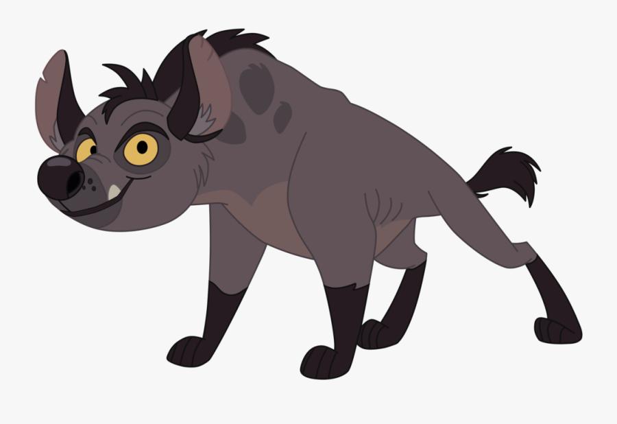 Hyena Lion Janja Scar Mufasa - Lion King Cartoon Hyena, Transparent Clipart