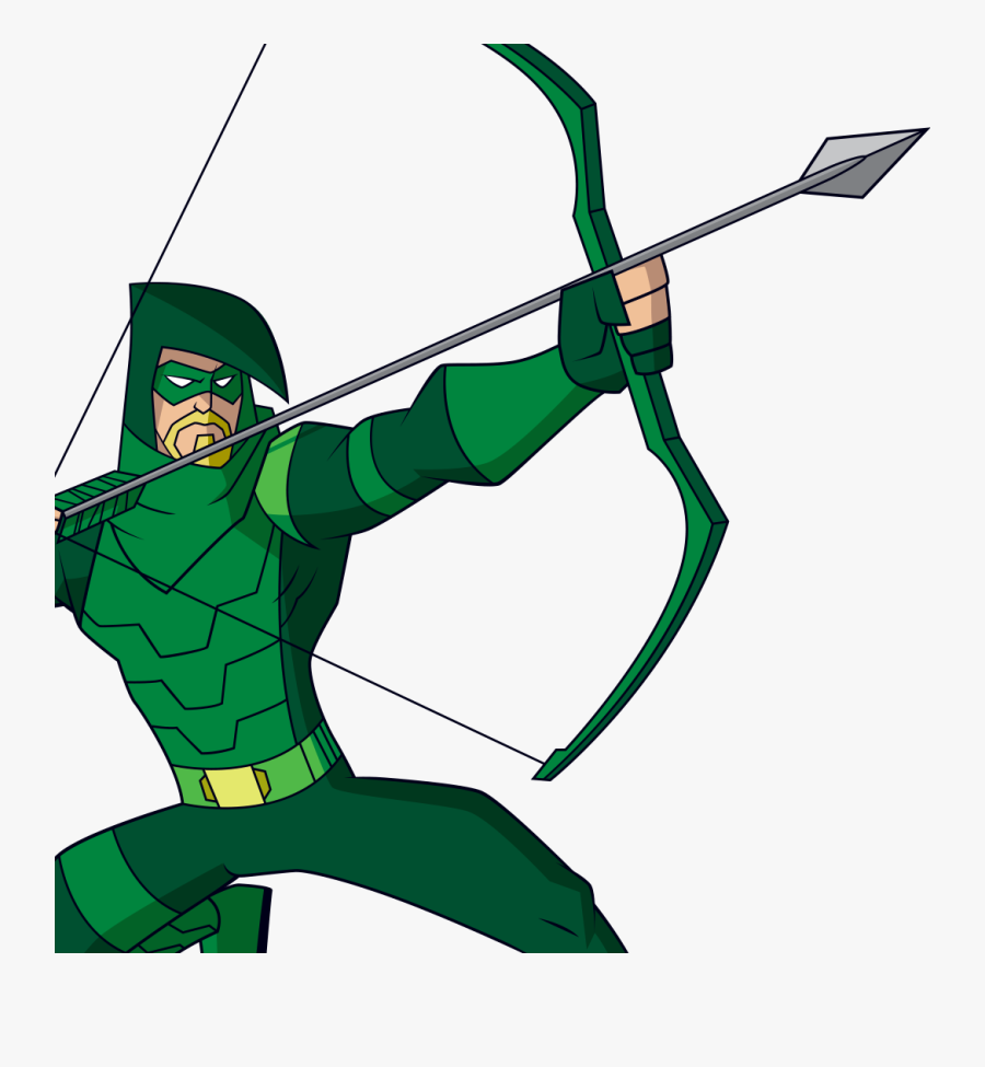 Clip Art Stock Green Arrow Batman Booster - Dc Superhero Girls Green Arrow, Transparent Clipart