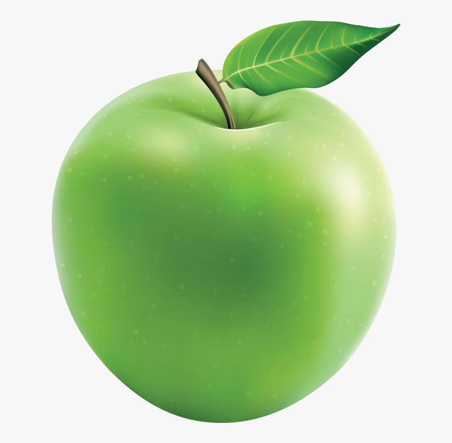 Granny Smith Sour Smirnoff Green Apple Snow Cone - Granny Smith Apple, Transparent Clipart