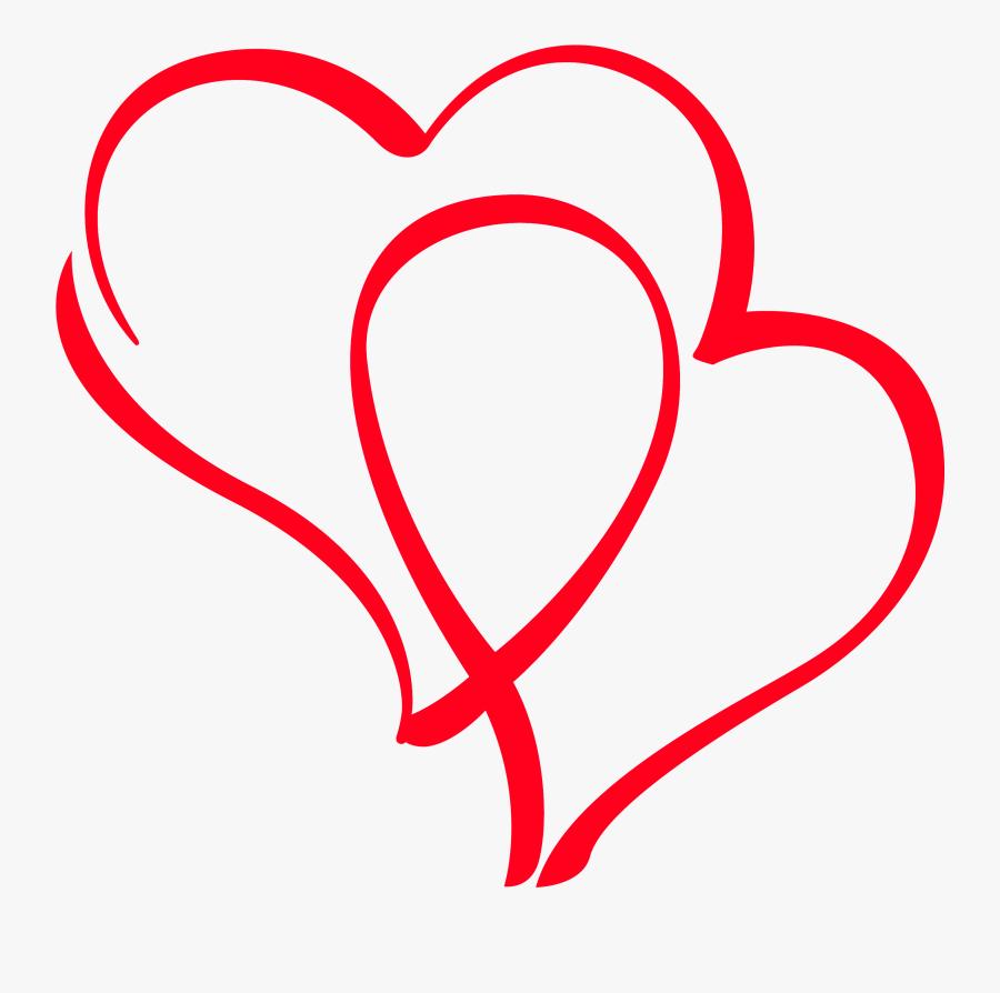 Lotus Clipart Logo Bjp - Drawn Transparent Red Heart, Transparent Clipart