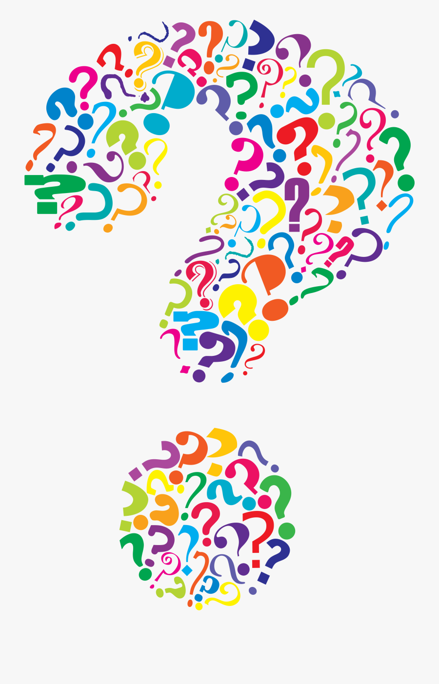 Question Mark Marks Clipart Transparent Png - Question Mark Clipart, Transparent Clipart