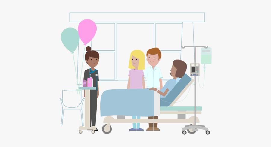 Mediclinic Case Studies Visitors - Hospital Visitors Clipart, Transparent Clipart