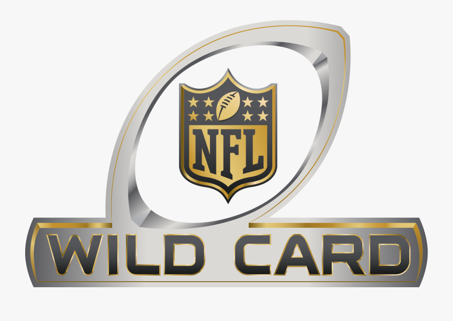 League Football Playoffs Orleans Bowl National Nfl - Nfl Wild Card Logo, Transparent Clipart