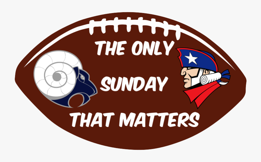Rams Vs Patriots Pigskin Vinyl Decals - Situation Has Changed, Transparent Clipart