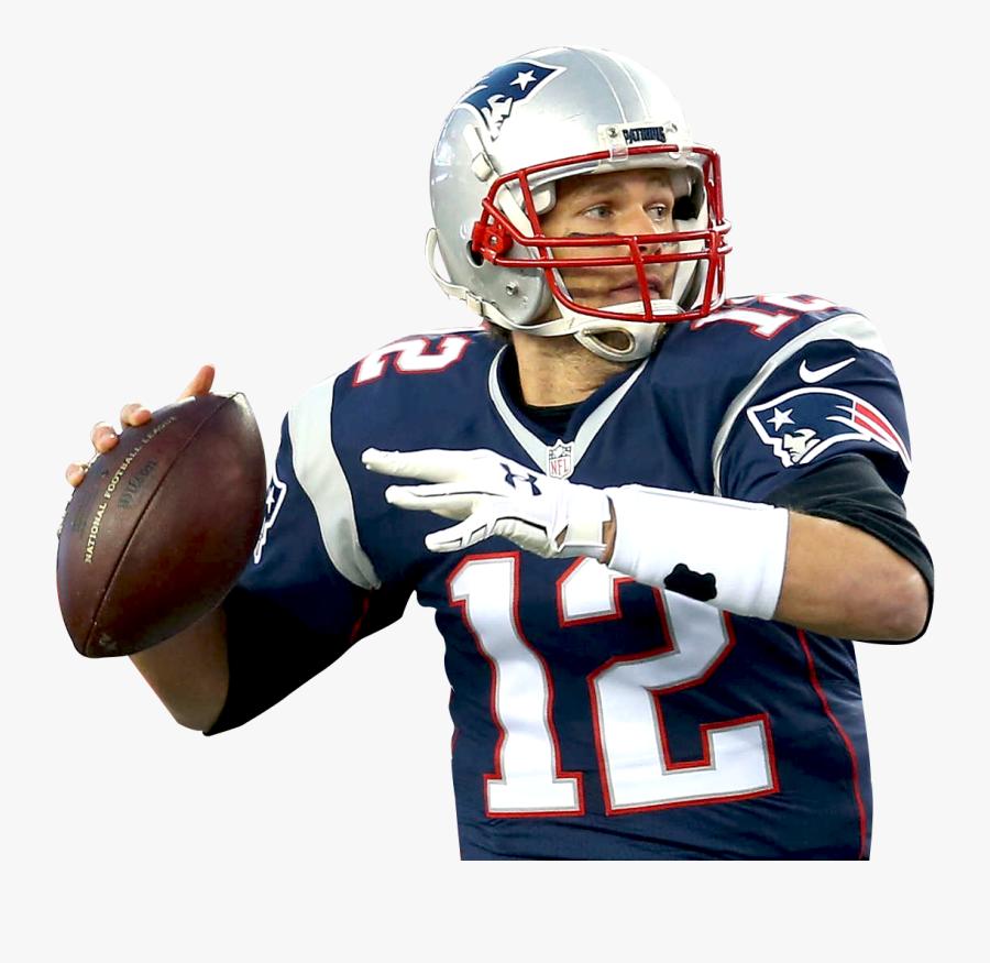 Patriots Clipart Player Patriots - Tom Brady Png, Transparent Clipart