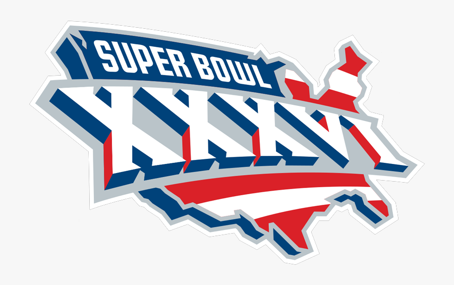 2002 Super Bowl Logo, Transparent Clipart