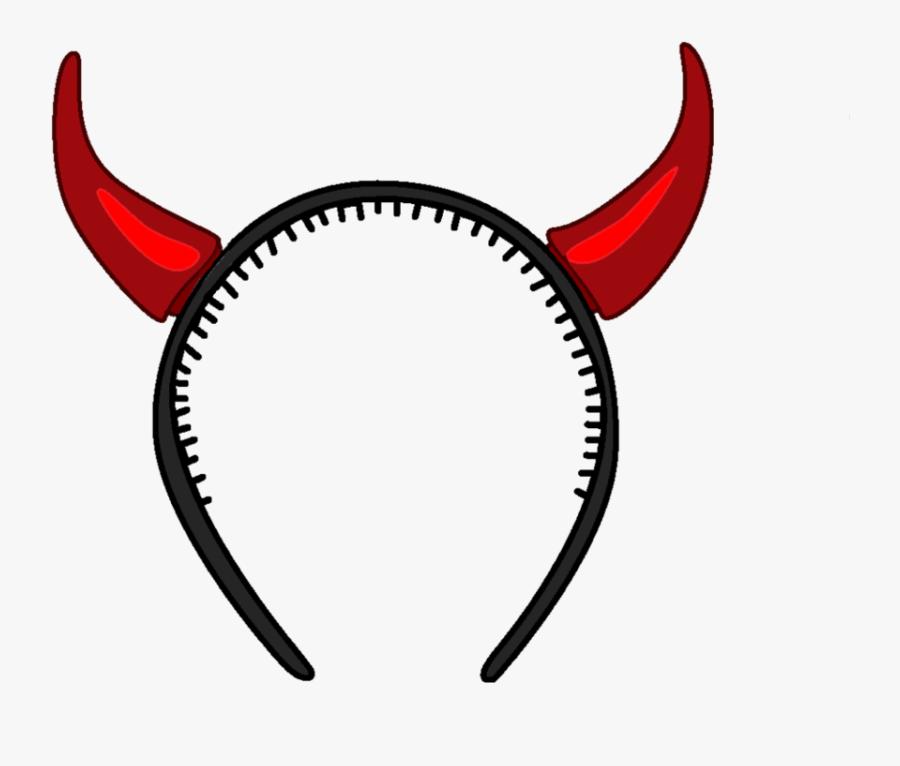 Devils Horn Png Download Image - Devil Horns Headband Png, Transparent Clipart