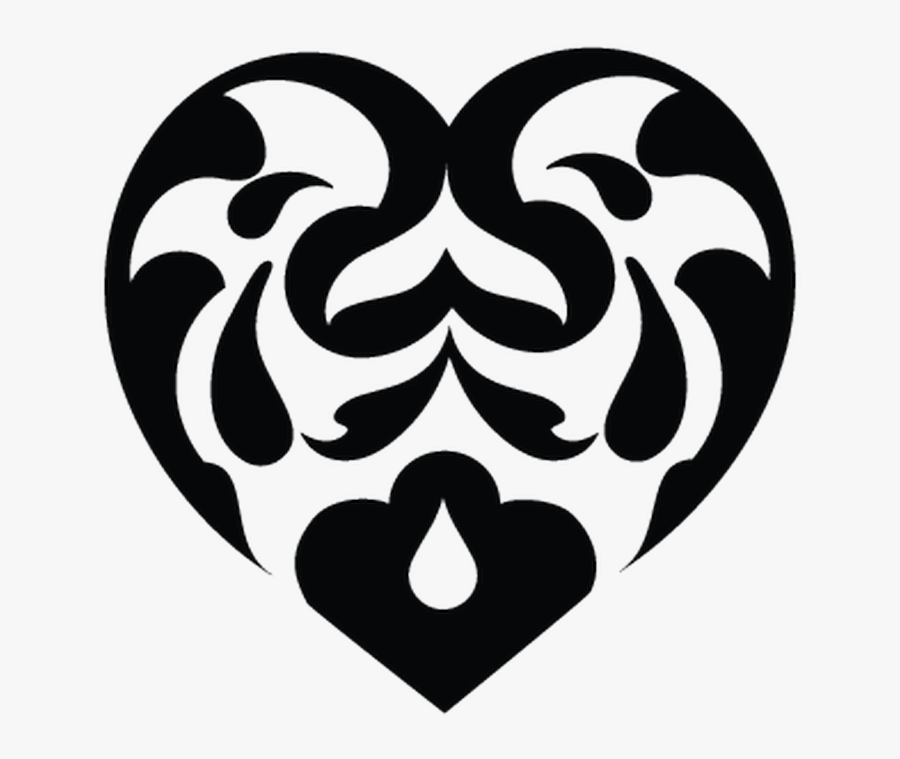 Transparent Fancy Heart Png - Vector Hearts, Transparent Clipart