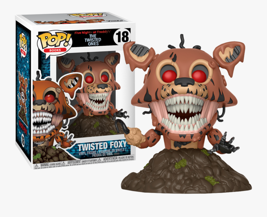Five Nights At Freddy's - Twisted Foxy Pop, Transparent Clipart