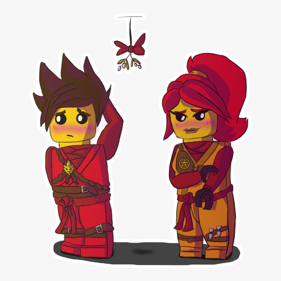 Transparent Lego Ninjago Clipart - Lego Ninjago Kai X Skylar, Transparent Clipart