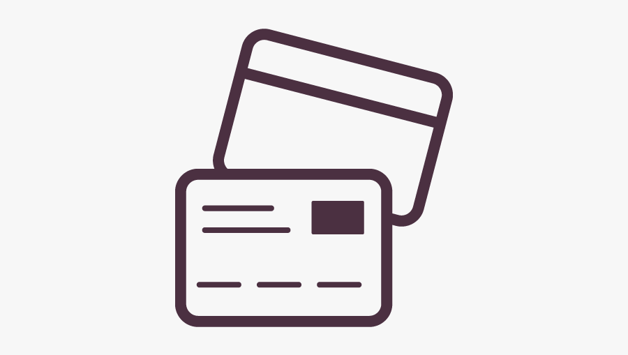 Debit Card Icon - Payment Successful Vector Img, Transparent Clipart