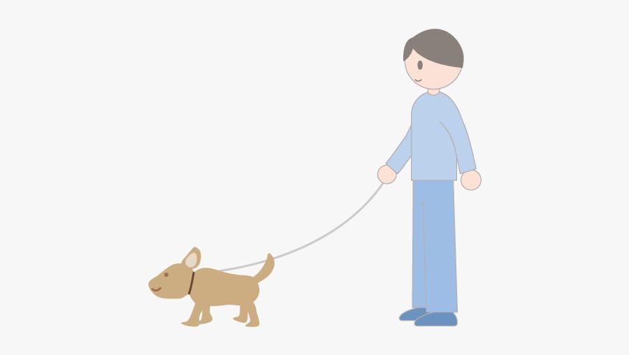 Dog Walking, Transparent Clipart