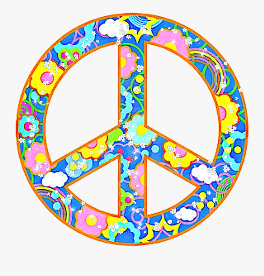Hippie Hello Summer Flower Freetoedit Clipart , Png - Peace Love And Happiness, Transparent Clipart