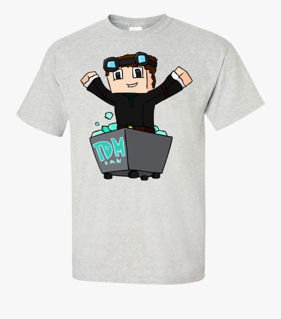 Dantdm The Diamond Minecart Tank Top Png Download Dantdm Minecraft T Shirt Roblox Free Transparent Clipart Clipartkey
