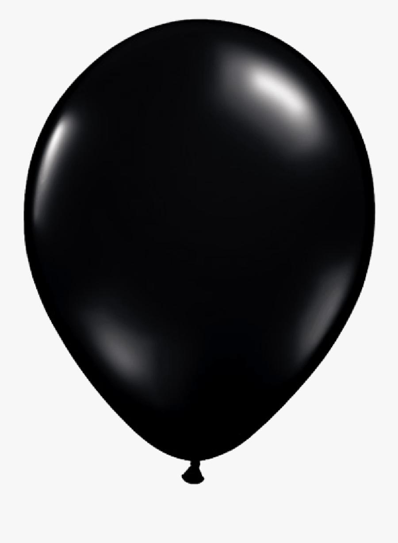 Black Balloons Clipart - Black Balloon, Transparent Clipart