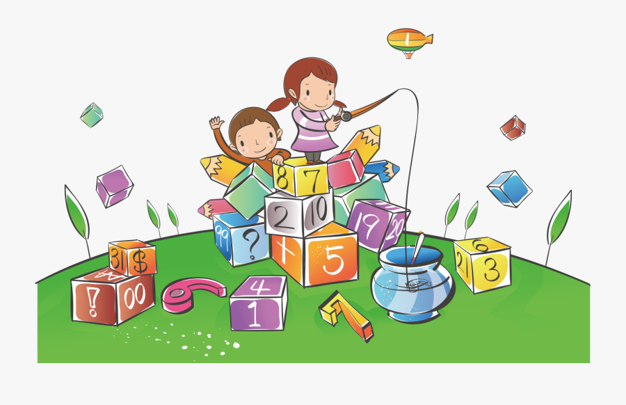 Toddler Clipart Alphabet - Kids Learning Numbers Clipart, Transparent Clipart