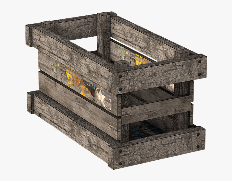 Wooden Png Free Images - Wood Crates Transparent Background Transparent, Transparent Clipart