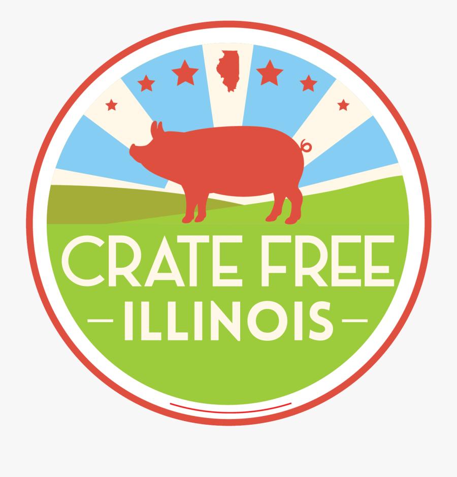 Volunteer Crate Free Illinois - Sign, Transparent Clipart