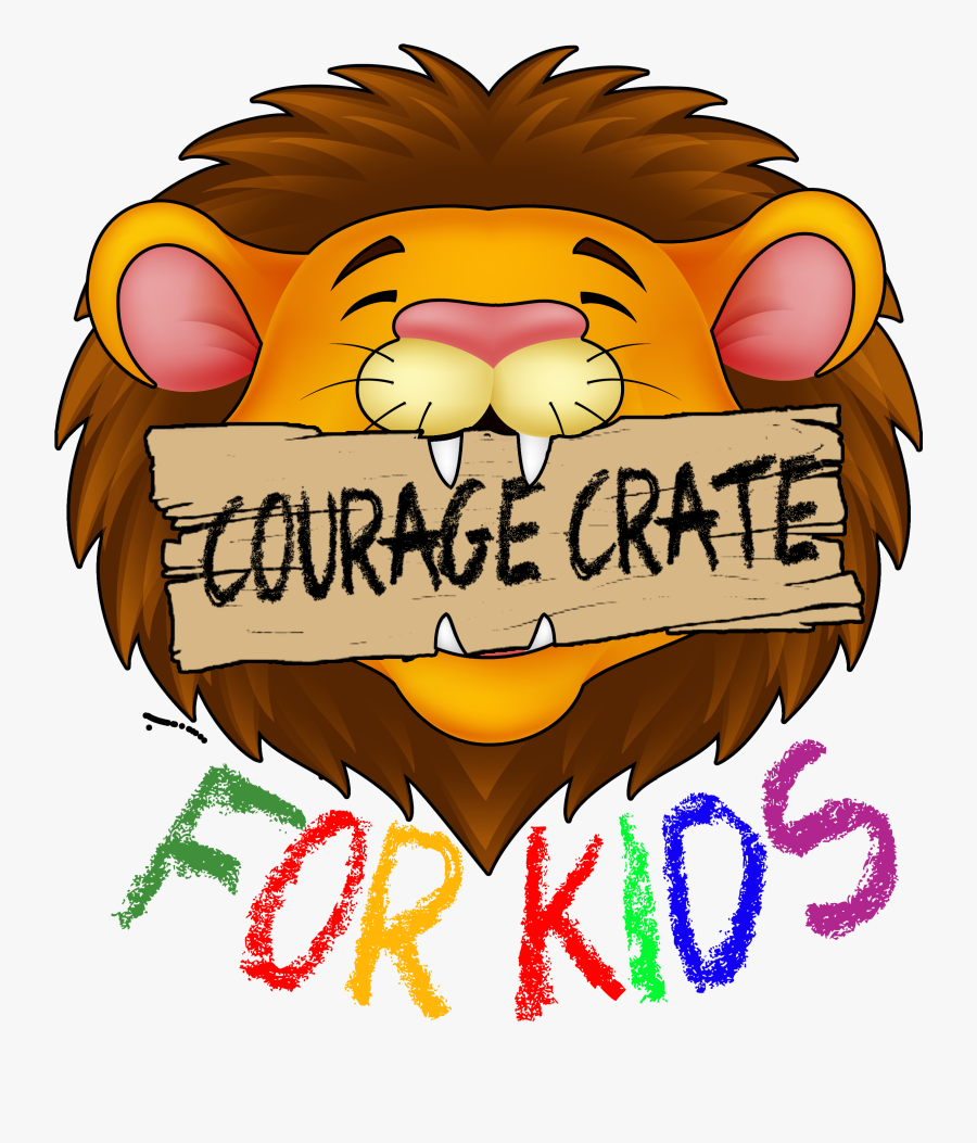 Courage Crate For Kids - Cartoon, Transparent Clipart