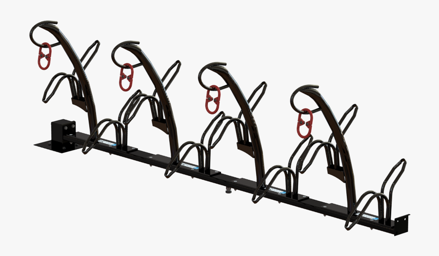 Tulip Bicycle Rack For Crate Bikes - Tool, Transparent Clipart