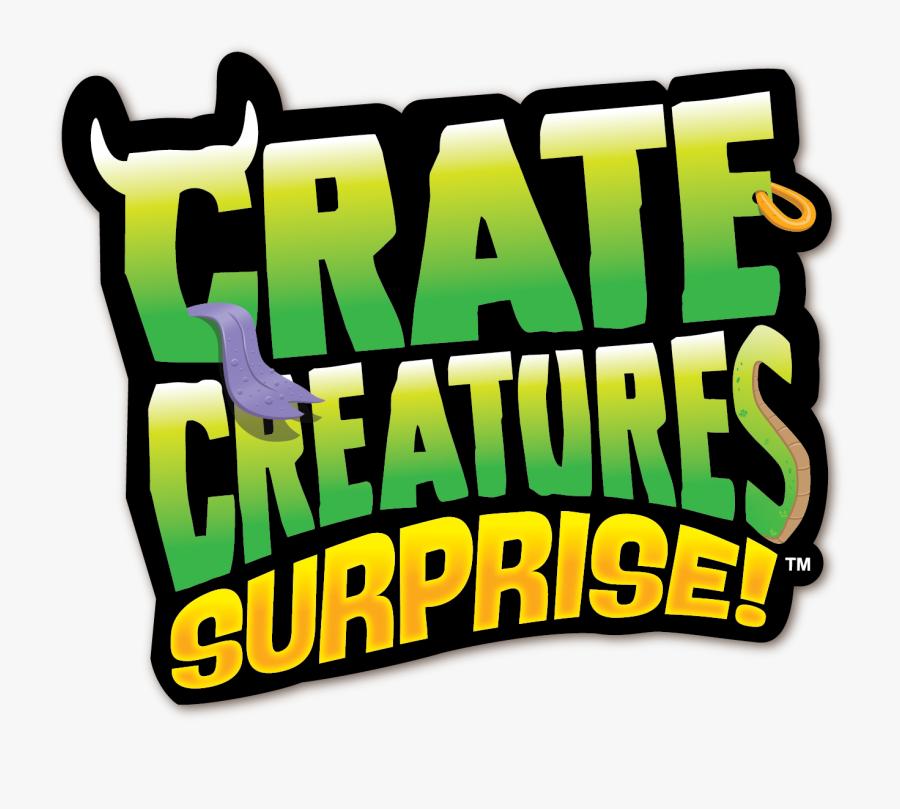 Crate Creatures Surprise Logo Clipart , Png Download - Crate Creatures Surprise Logo, Transparent Clipart