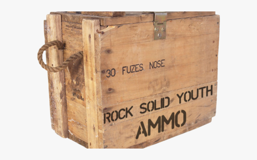 Ammo Crate Cliparts - Ammo Crate Png, Transparent Clipart