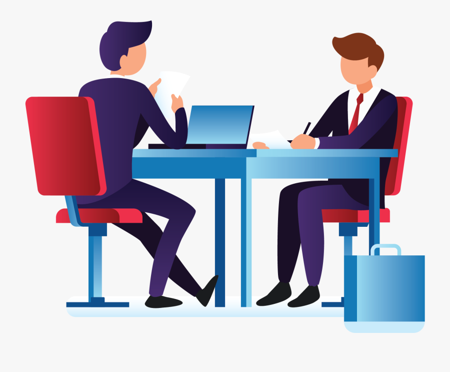 Transparent Interview Png - Cartoon Interview In Office , Free Transparent  Clipart - ClipartKey