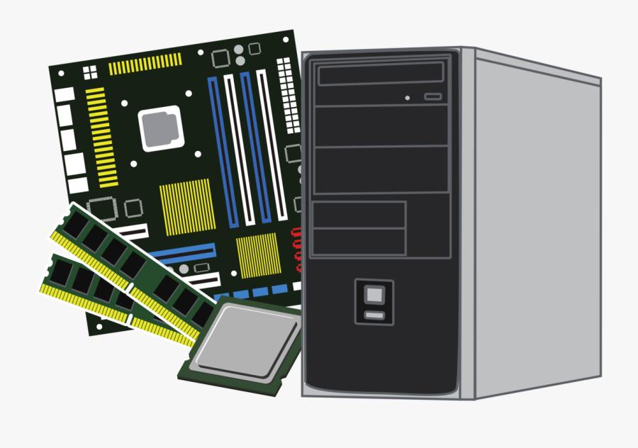 Case - Png Clipart Computer Parts Png, Transparent Clipart