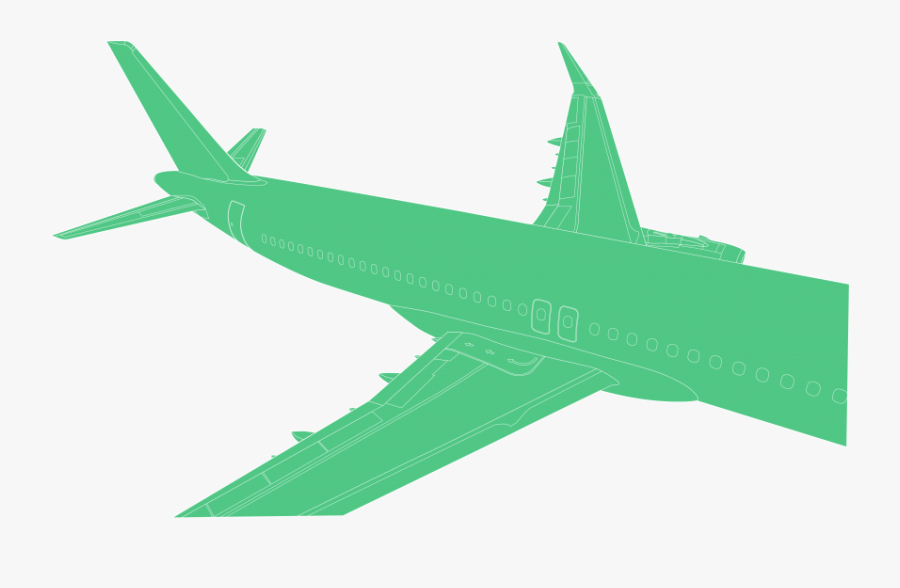 Free Png Download Airplane Png Images Background Png - Wide-body Aircraft, Transparent Clipart
