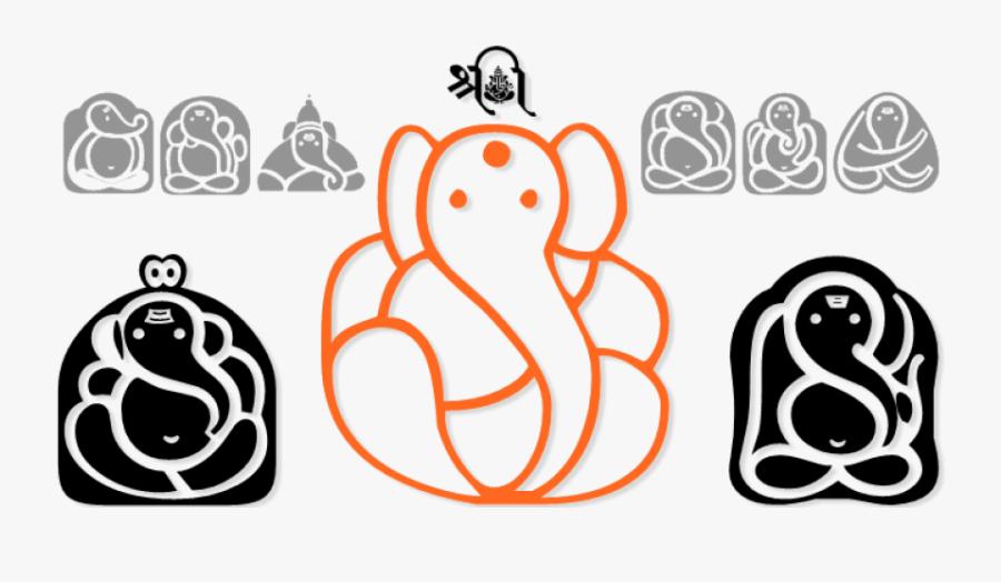 Ganesh Symbol Png - Shree Ganesh Symbol Font, Transparent Clipart
