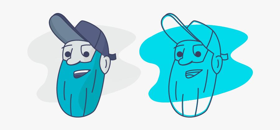 Hipster Rebound Hat Beard Hipster Vector Design Illustrator, Transparent Clipart