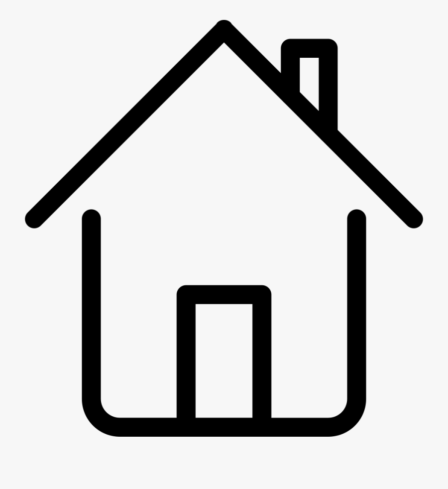 Home Outline Icon Png Clipart , Png Download - Noun Project Home, Transparent Clipart