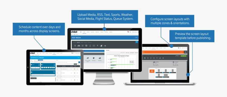 Transparent Editable Marquee Clipart - Web Based Digital Signage Market, Transparent Clipart