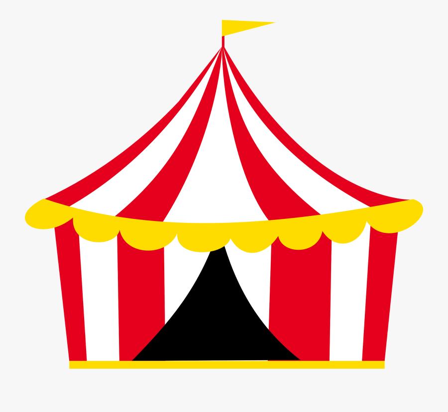 Tenda Circo Montando A - Carpa De Circo Dibujo, Transparent Clipart