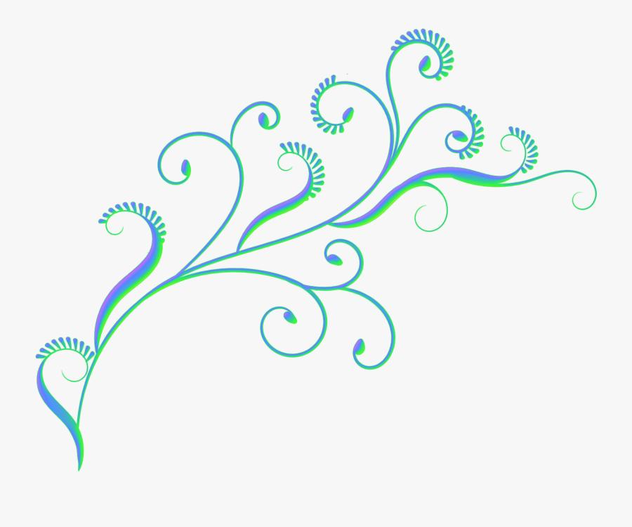 Fire Clipart Swirl - Simple Swirl Pattern Border, Transparent Clipart