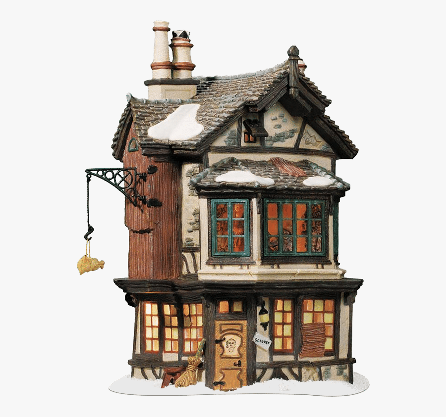 Ebenezer Scrooges House In A Christmas Carol, Transparent Clipart