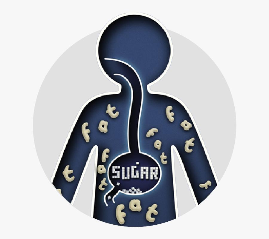 How Sugar Affects Our Kids - Illustration, Transparent Clipart