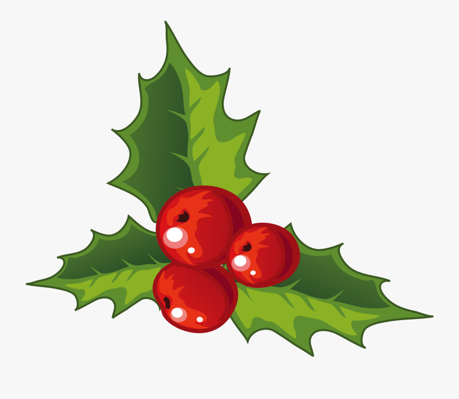 Christmas Decorations For Clipart , Png Download - Holly Christmas Decorations, Transparent Clipart